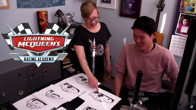 Lightning McQueen's Racing Academy animation process with Tasha Sounart