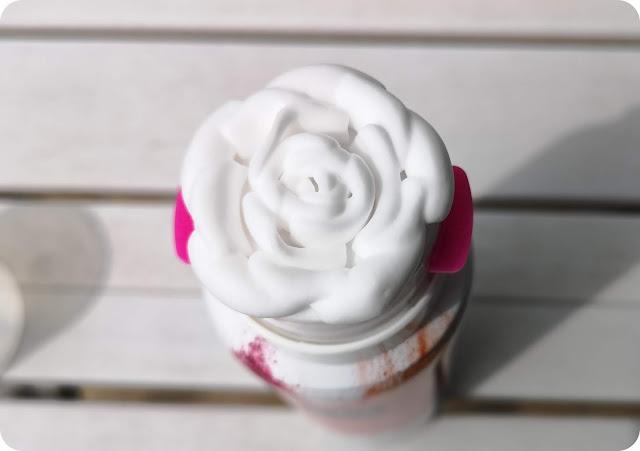 shower foam flower
