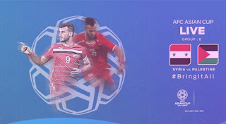 فيديو| رغم الطرد منتخب فلسطين ينتزع نقطة من فم منتخب سوريا ،كأس اسيا 2019