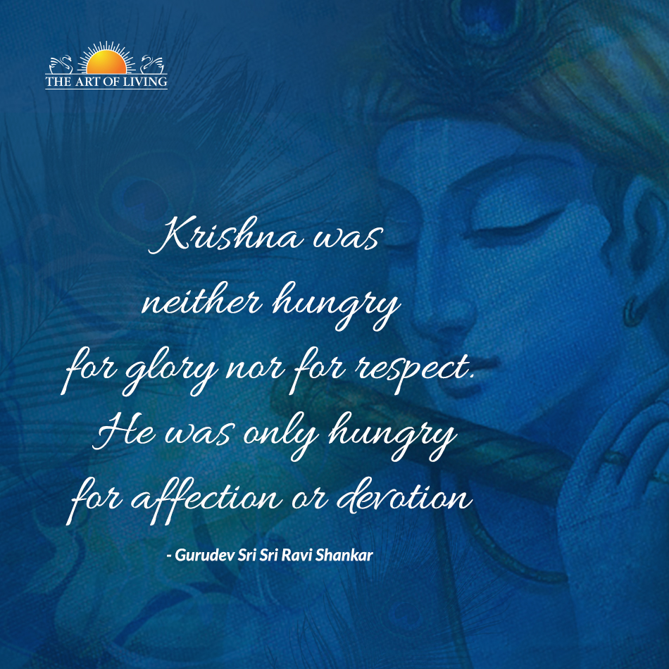 quotes by sri sri ravi shankar krishna janmashtami quotes