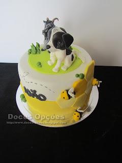 bolo com animais personalizado bragança doces opções