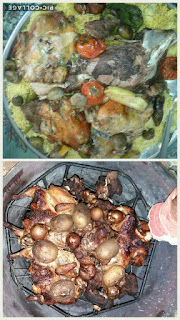 الرز مع اللحم والدجاج طريقة الزرب