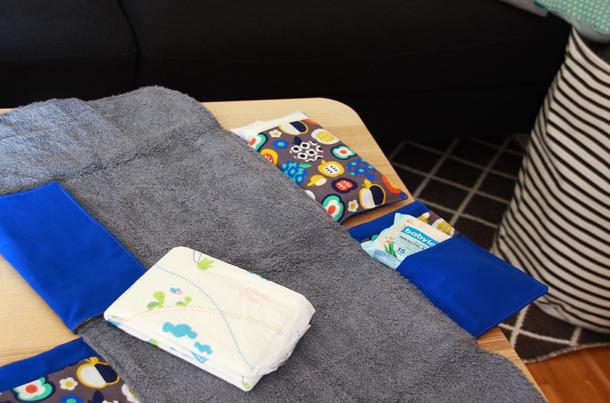 binedoro n hen ein baby set mit wickeltunterlage n h anleitung. Black Bedroom Furniture Sets. Home Design Ideas