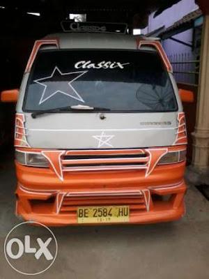 Modifikasi Mobil Angkot Lampung
