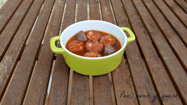 Chorizo a la sidra (tradicional o Crock-Pot)