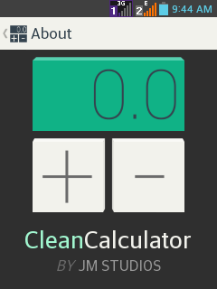 Clean Calculator F-Droid.