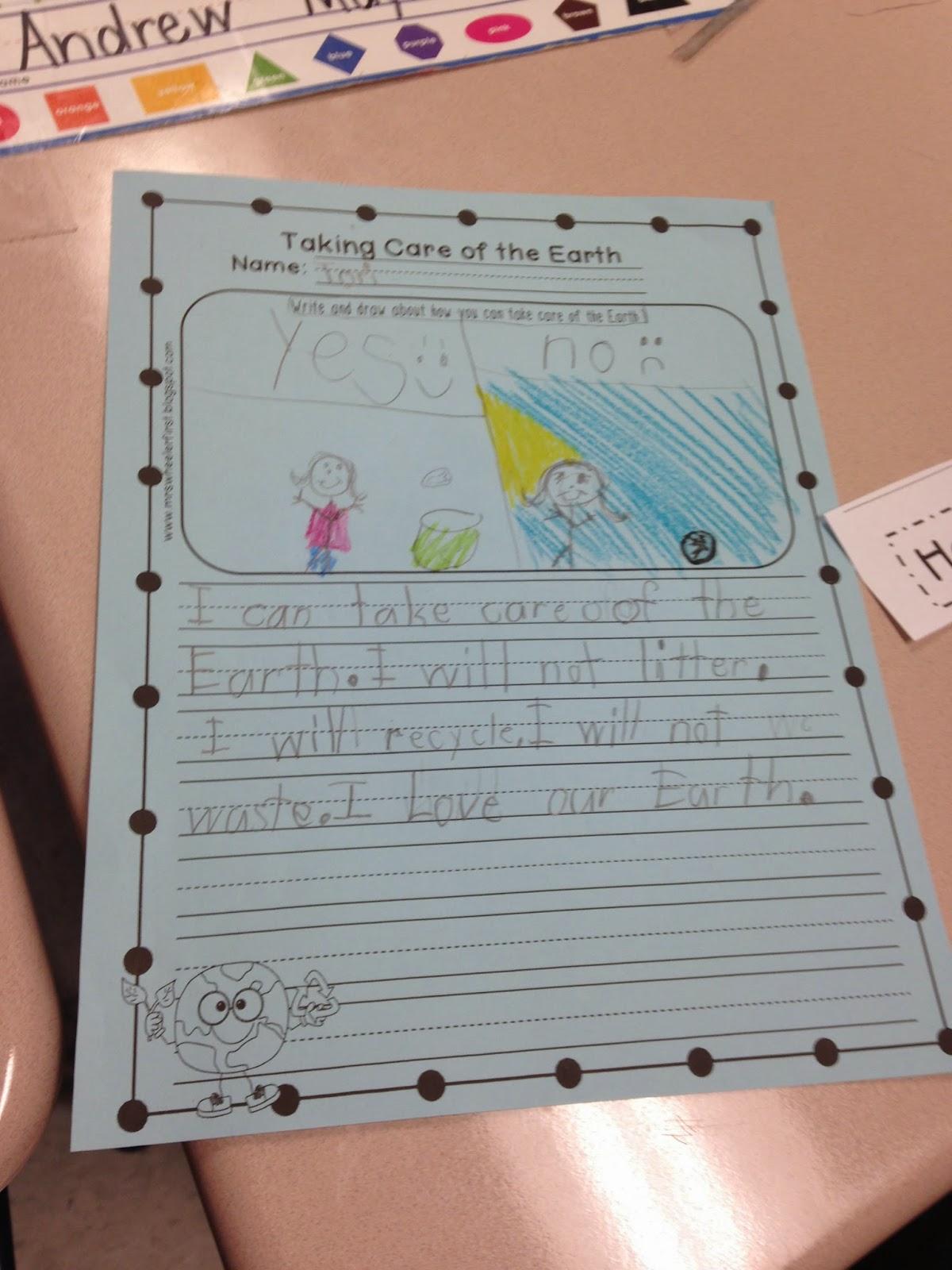 Mrs Wheeler S First Grade Tidbits Earth Day