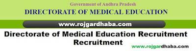 dme-directorate-medical-education-andhra-pradesh-jobs