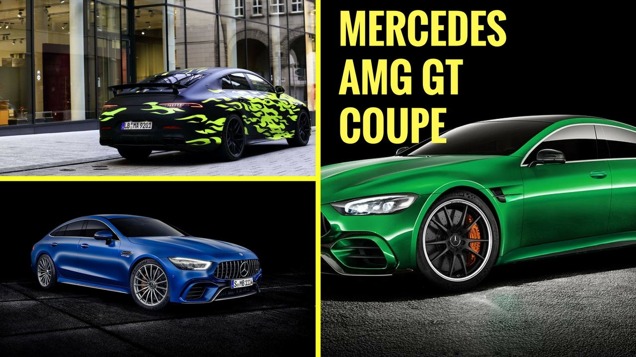 Mercedes AMG GT Coupe 2019.luxury Interior U0026 Exterior