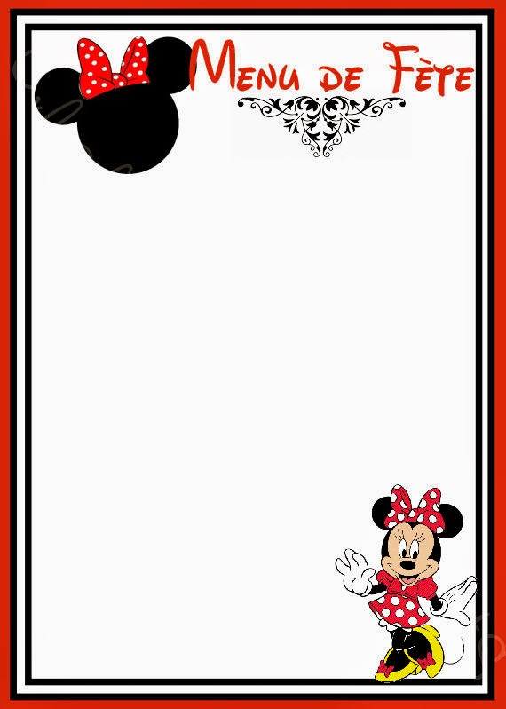 Baby Como Hacer Shower De Minnie Para Invitaciones Mouse