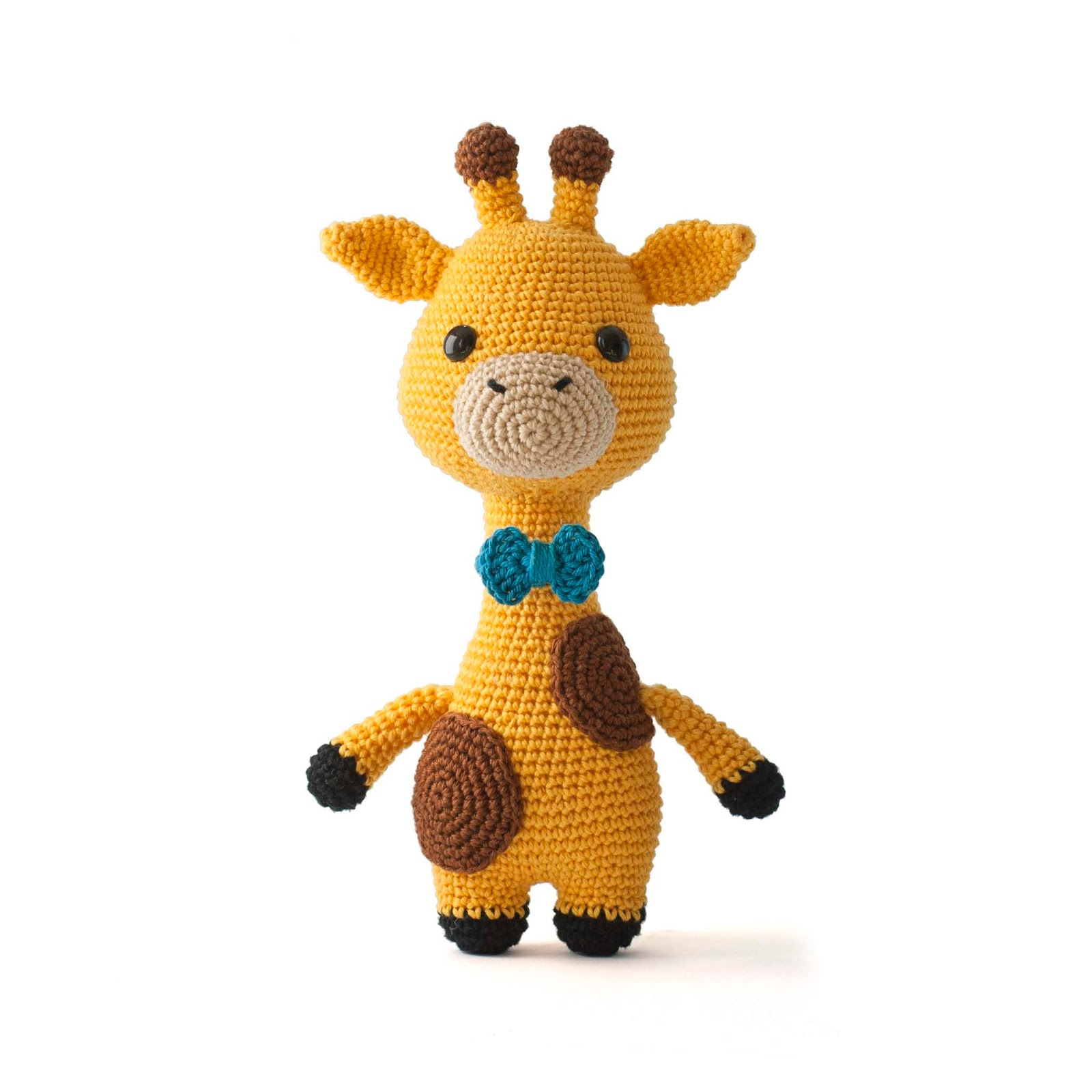 Toy Patterns by DIY Fluffies : James the Giraffe Amigurumi Crochet ...