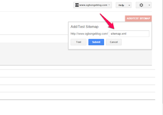 How To Submit /Add Blogger Sitemap For To Google Search Engine Index Webmaster Tools?