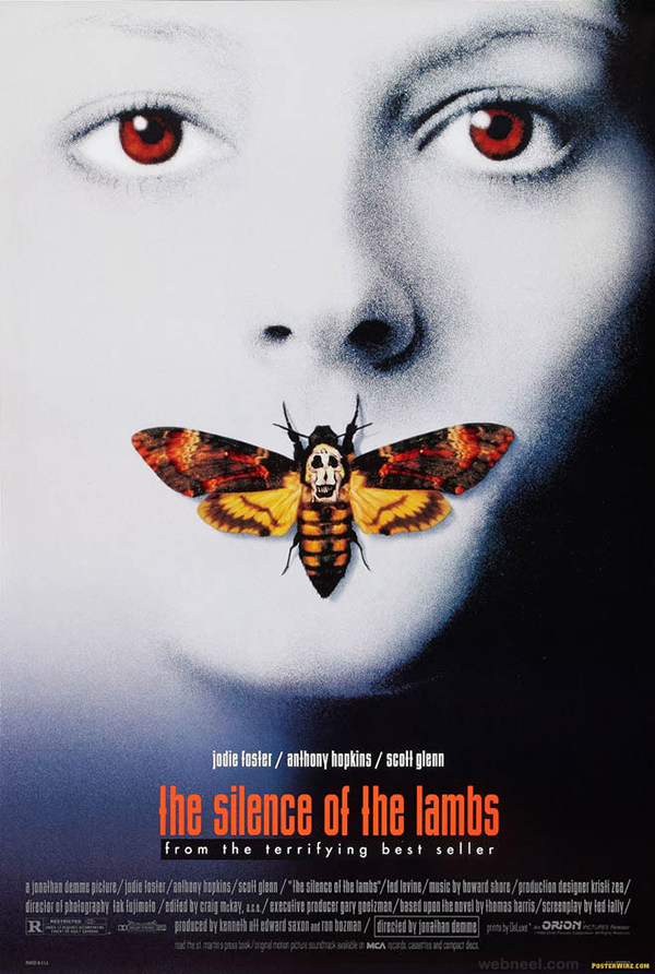 silence-of-the-lambs-creative-movie-poster-design