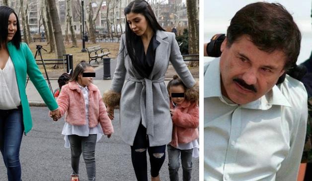Llora  El Chapo Guzman de tristeza al ver a sus gemelitas.
