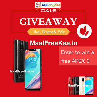 Free OALE APEX 3 Smartphone