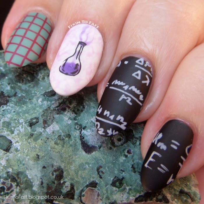 Science Nail Designs