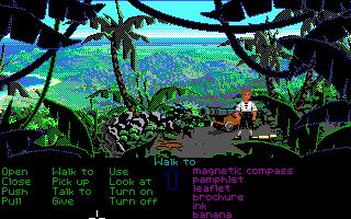 Monkey Island versión EGA