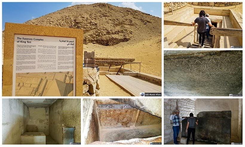 Pirâmide de Teti em Saqqara - Diário de Bordo: 2 dias no Cairo