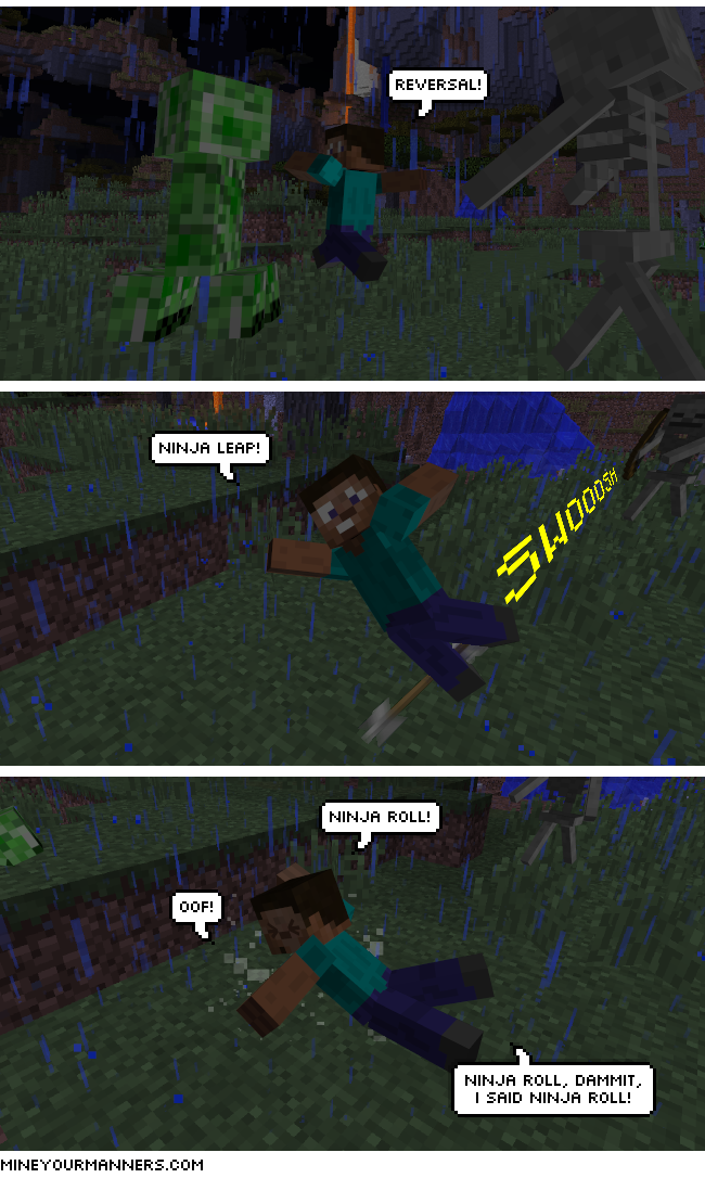 Minecraft Webcomic