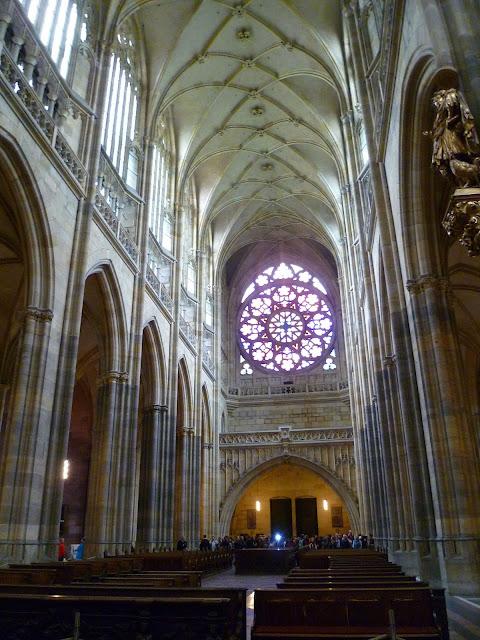Чехия, Прага - собор Святого Вита (Czech Republic, Prague - St. Vitus Cathedral)