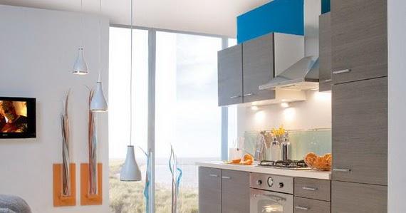 moderne id es bleu de d cor de cuisine d cor de maison d coration chambre. Black Bedroom Furniture Sets. Home Design Ideas