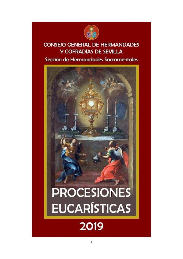 Procesiones Eucarísticas en Sevilla en el 2019