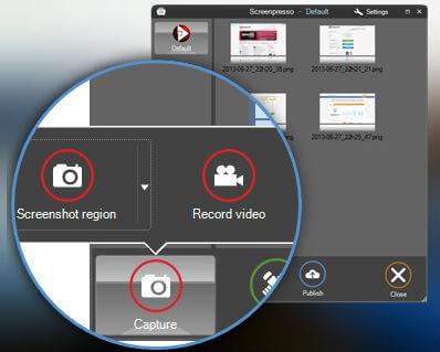برنامج تصوير الشاشة للكمبيوتر