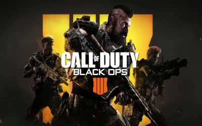 Call of Duty Black Ops 4 Affiche - Fond d'écran en Ultra HD 4K 2160p
