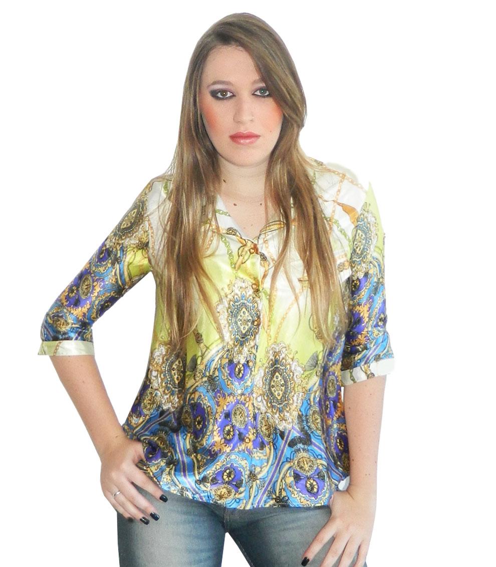 Camisas y blusas de mujer de Massimo Dutti. Descubra la colección AW de blusas y camisas de cuadros, topos, rayas o vaqueras. Estilo a su alcance.