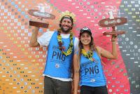 1 Taylor Jensen and Chloe Calmon Kumul PNG World Longboard Championships foto WSL Andrew Nichols