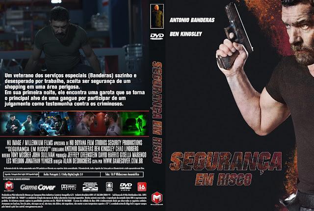 Capa DVD Segurança Em Risco [Exclusiva]