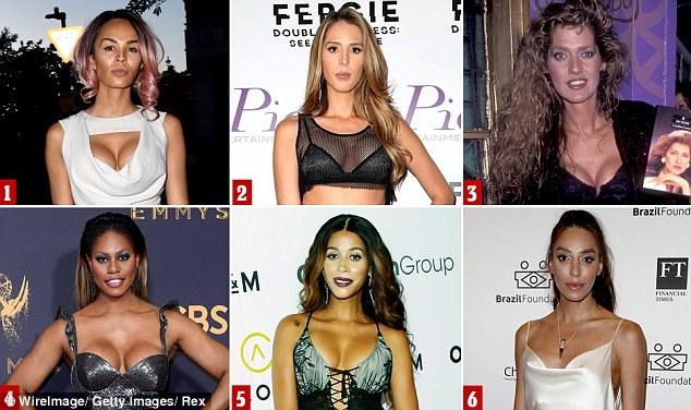 World's sexiest transgender women