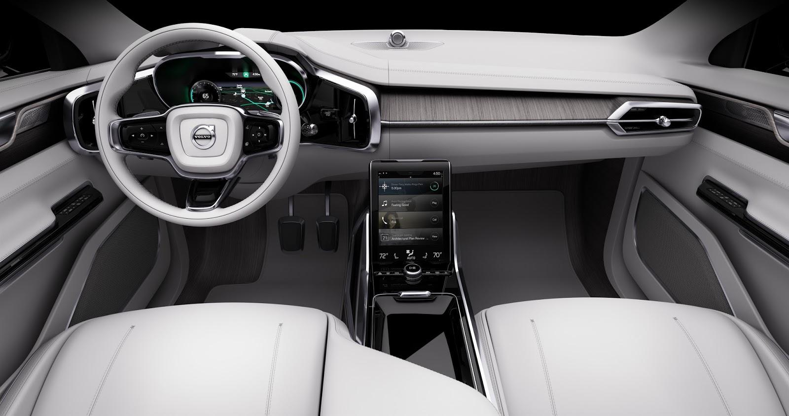 169538 Concept 26 Η Volvo θα κάνει και την αυτόνομη οδήγηση διασκεδαστική Autonomous Driving, Volvo, Volvo XC90, Αυτόνομη οδήγηση