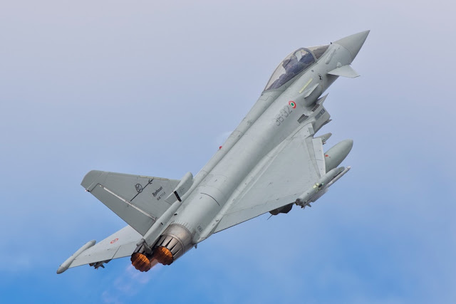 Eurofighter Typhoon scramble