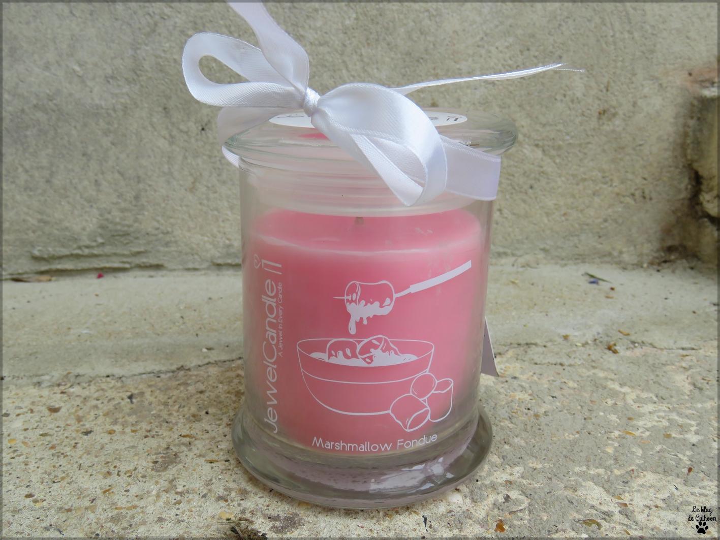 Marshmallow Fondue Jewel Candle