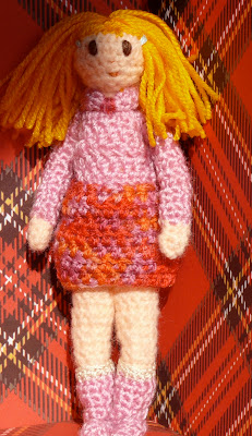 muñecas amigurumi, crochet doll
