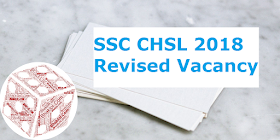 SSC CHSL 2018 Revised Vacancy Released: 5789 Posts(16th May 2019)