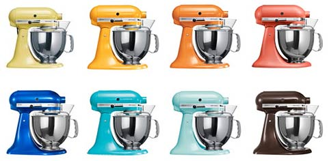 couleurs kitchenaid artisan
