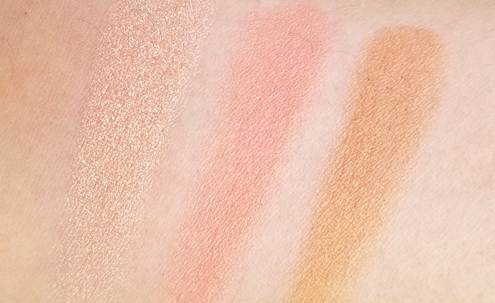 Too Faced - Sweet Peach Glow Peach Infused Highlighting Palette - 39.99 Euro - Swatches