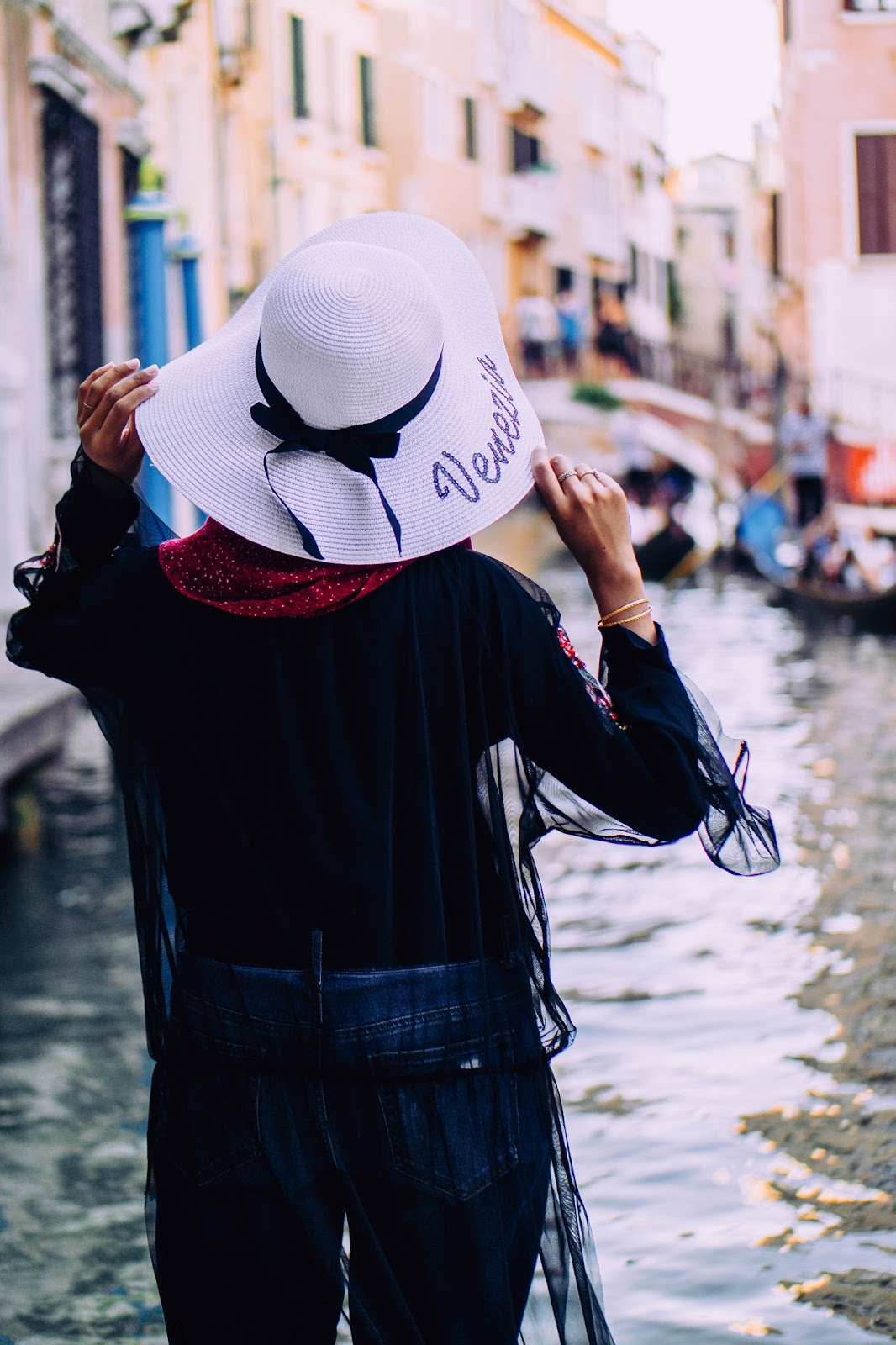 Venizia Straw Hat in Venice