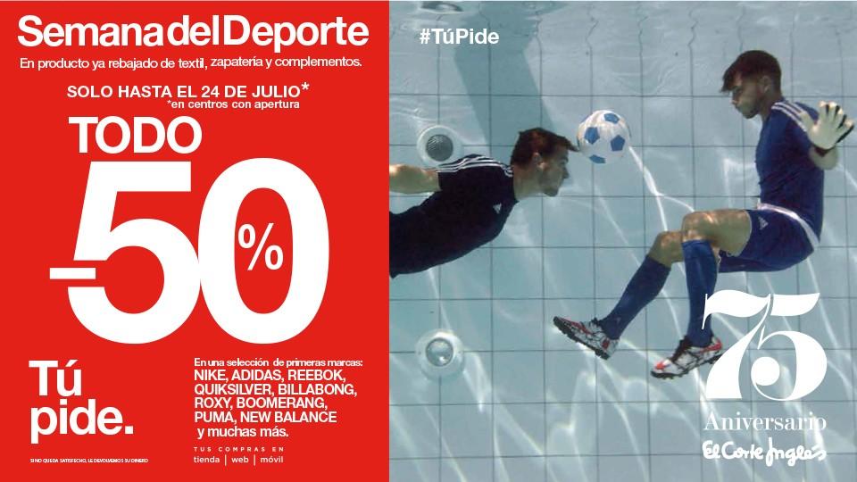 146711dfe237d me gusta ahorrar  Semana del deporte en El Corte Inglés