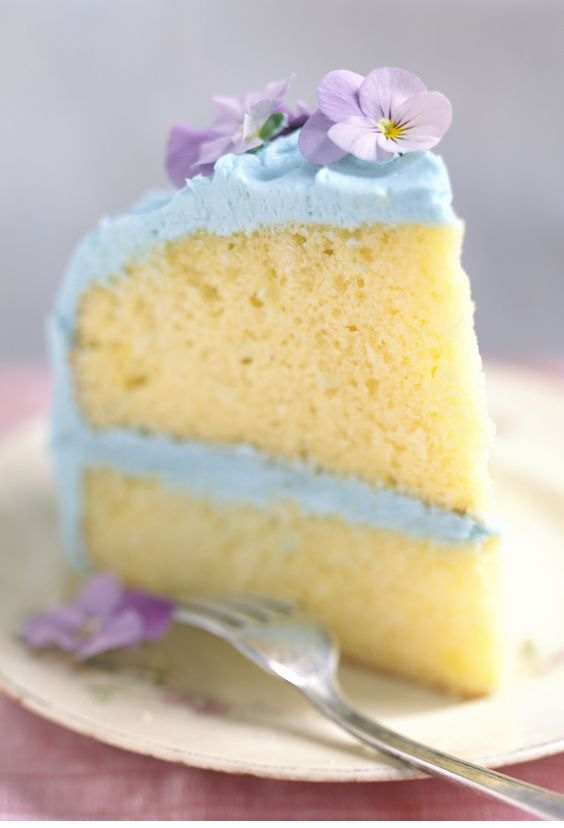 Fluffy Homemade Vanilla Cake