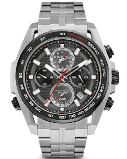 BULOVA MEN'S PRECISIONIST CHRONOGRAPH 98B270