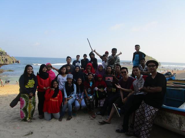 Pantai Ngandong, Gunungkidul Yogyakarta (RISMA)