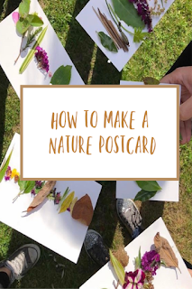 How to make a nature postcard