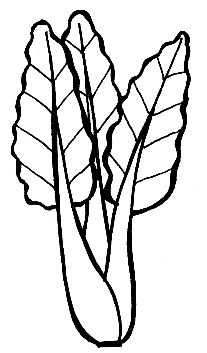 Coloring Pictures Of Green Vegetables | Coloring Pages