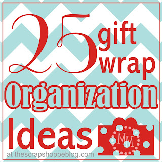 25 Gift Wrap Organization Ideas