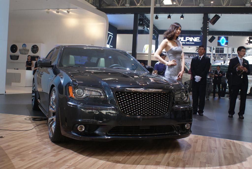 Sport Car Garage Chrysler 300 Ruyi Design Concept 2012