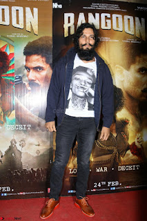 Bollywood Celebrities at Rangoon Movie Special Screening Feb 2017 14.JPG