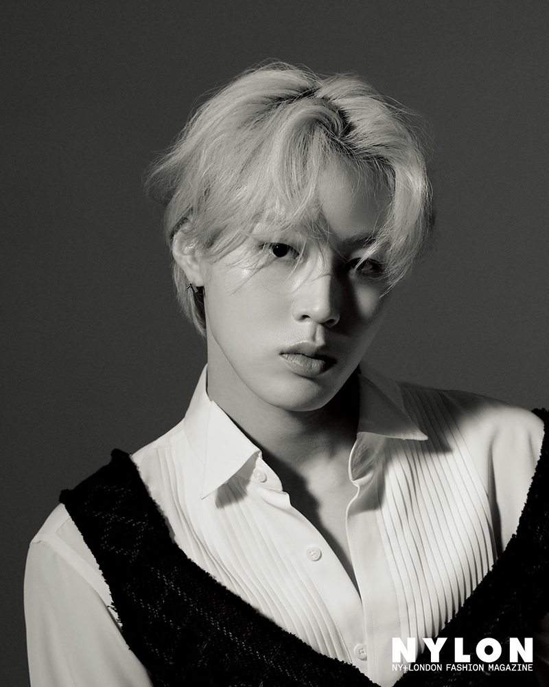 Ha Sung Woon in Nylon Korea July 2020